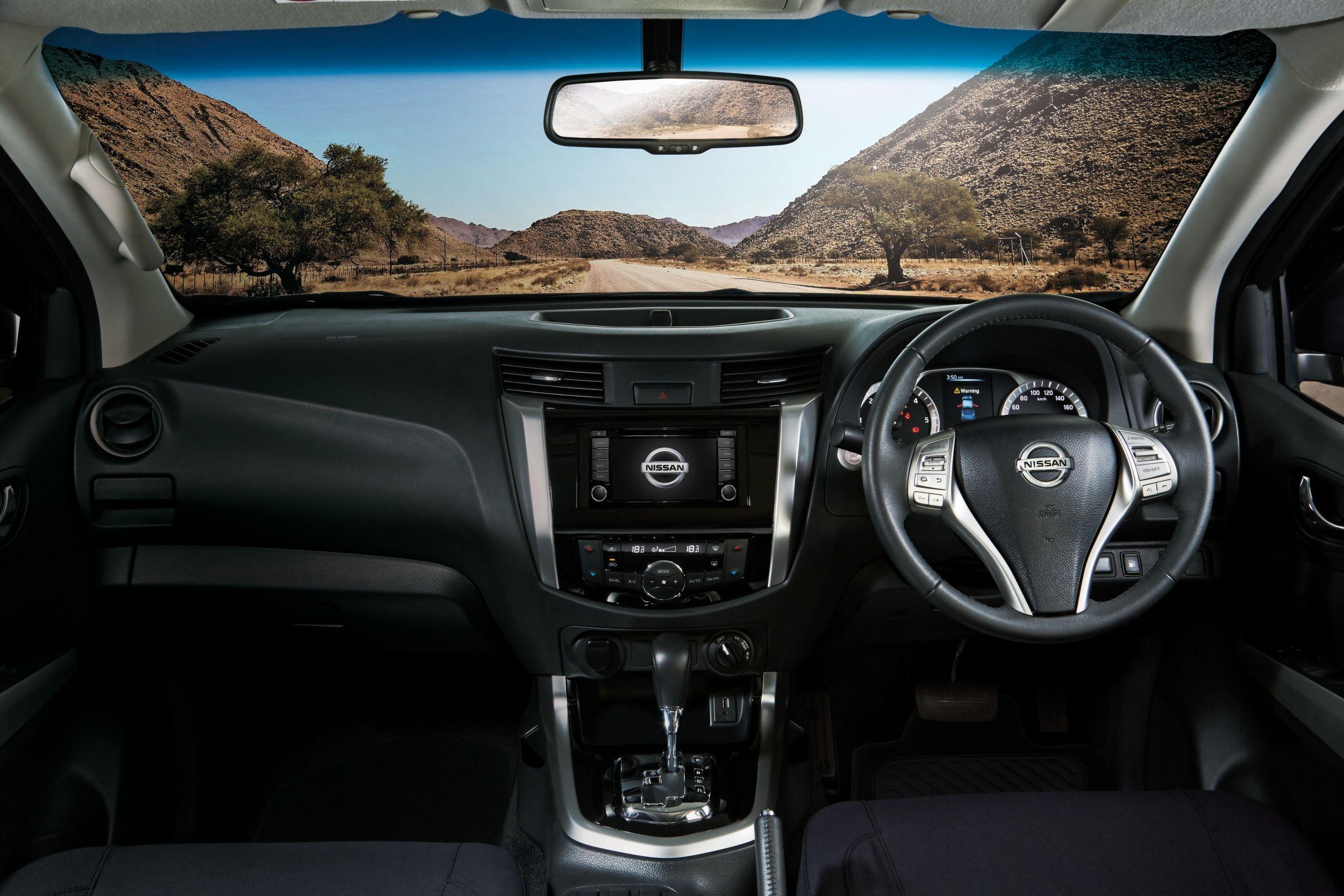 Nissan Navara Dash